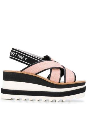Stella McCartney Sneak Elyse 80mm sandals - White