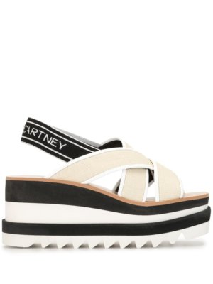 Stella McCartney Sneak Elyse platform sandals - Neutrals