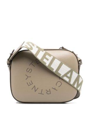 Stella McCartney Stella Logo shoulder bag - Green