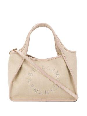 Stella McCartney Stella Logo tote bag - Neutrals