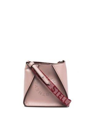 Stella McCartney micro Stella Logo shoulder bag - Pink