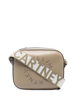 Stella McCartney mini Stella Logo shoulder bag - Green