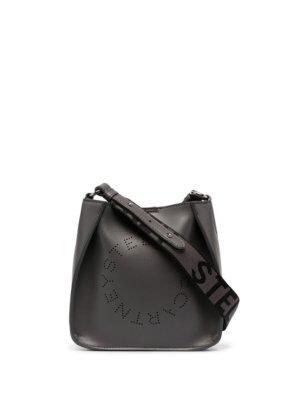 Stella McCartney mini Stella Logo shoulder bag - Grey