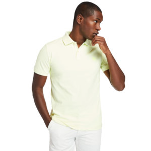 Timberland Millers River Polo Shirt For Men In Light Yellow Yellow, Size L