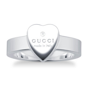 Trademark Silver Heart Ring - Ring Size J