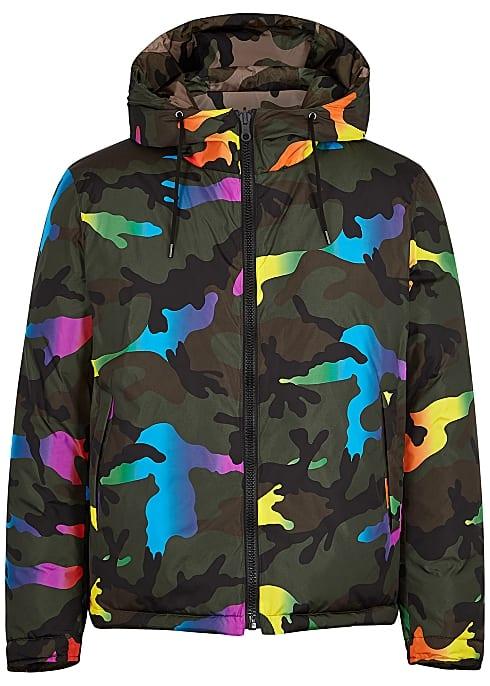 multicolour camo jacket