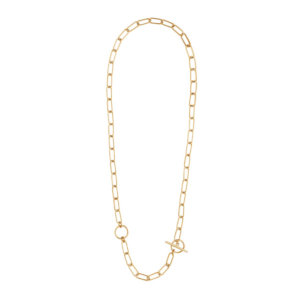 Wanderlust + Co - Double Toggle Xl Chain Gold Link Necklace