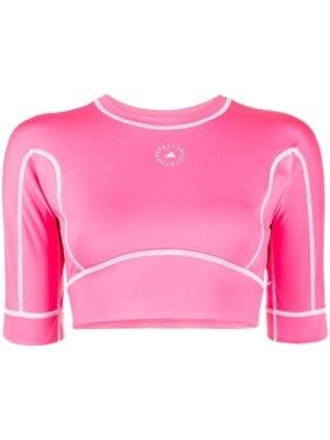 adidas by Stella McCartney TrueStrength yoga cropped top - Pink
