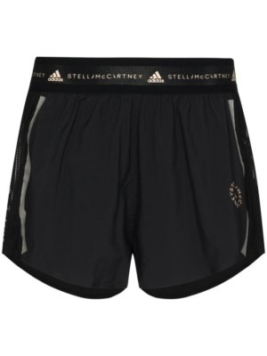 adidas by Stella McCartney Truepace track shorts - Black