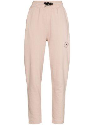 adidas by Stella McCartney drawstring tapered track pants - Pink