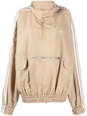 adidas by Stella McCartney oversized lightweight jacket - Neutrals