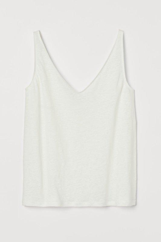 Linen Vest top