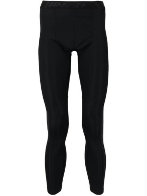 AAPE BY *A BATHING APE® leg-logo print leggings - Black