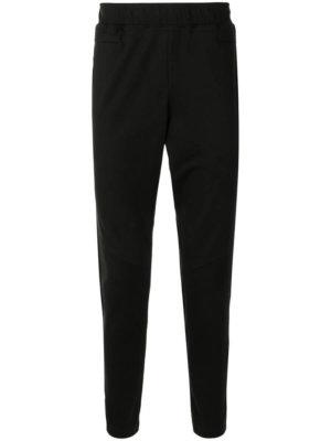 AAPE BY *A BATHING APE® logo-print slim-fit track pants - Black