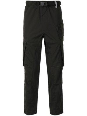 AAPE BY *A BATHING APE® straight-leg cargo trousers - Black
