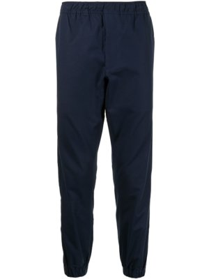 AAPE BY *A BATHING APE® stretch-cotton track trousers - Blue