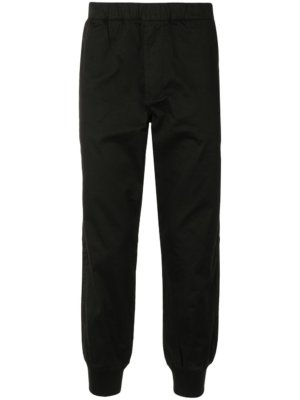 AAPE BY *A BATHING APE® tapered cut elasticated trousers - Black