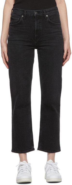 AGOLDE Black Wilder Jeans