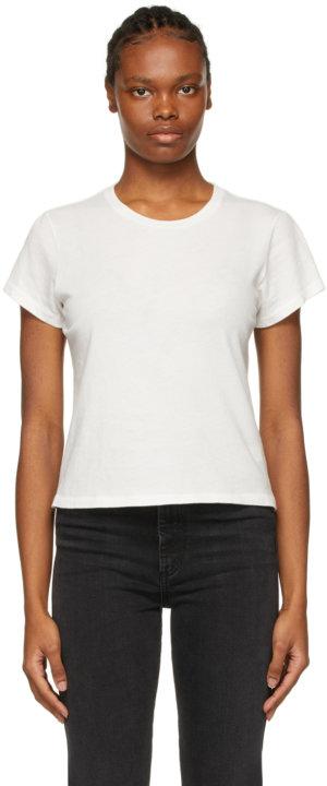 AGOLDE White Linda Boxy T-Shirt