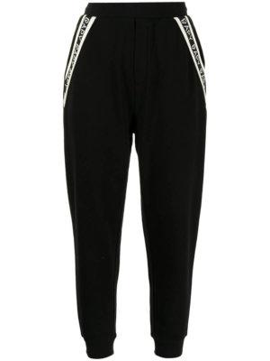 BAPY BY *A BATHING APE® logo-stripe joggers - Black