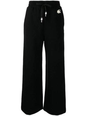 BAPY BY *A BATHING APE® wide-leg logo trousers - Black