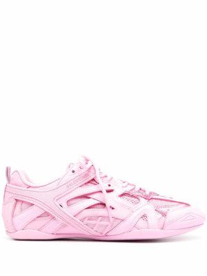 Balenciaga Drive panelled sneakers - Pink