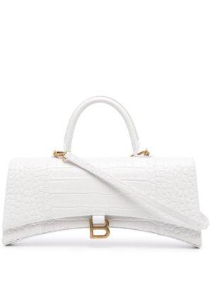 Balenciaga Hourglass tote bag - White