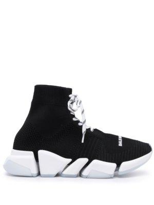 Balenciaga Speed 2.0 high-top sneakers - Black