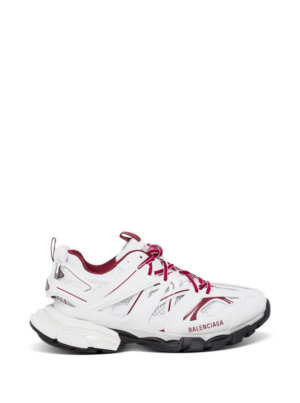 Balenciaga Track Clear Sole Sneakers In Mesh And Nylon