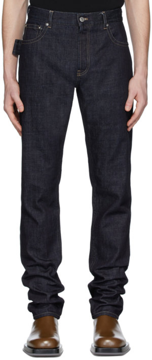 Bottega Veneta Indigo Rigid Jeans