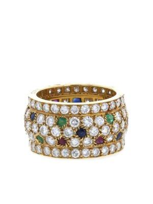 Cartier 18kt yellow gold diamond Nigeria ring
