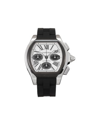 Cartier 2012 pre-owned Roadster 44mm - Silver