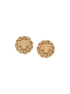 Chanel Pre-Owned 1990s clip-on earrings - Gold