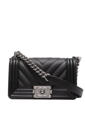 Chanel Pre-Owned 2018 Boy Chanel bag - Black