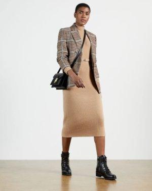 Chunky Knit Midi Dress
