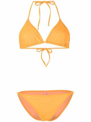Fiorucci Angels logo-print bikini - Orange