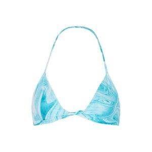 Ganni Printed Halterneck Bikini Top