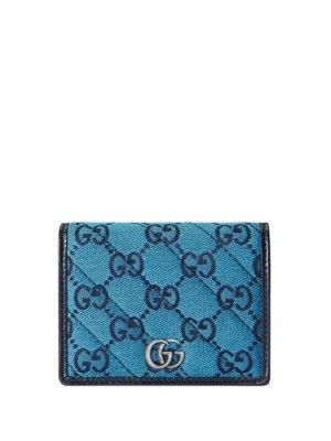 Gucci GG Marmont Multicolor wallet - Blue