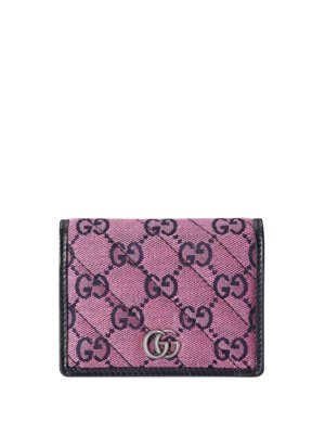 Gucci GG Marmont Multicolor wallet - Pink
