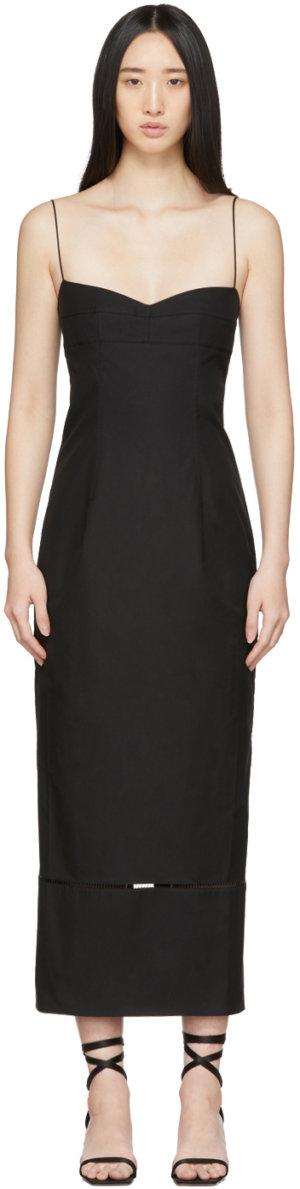 Khaite Black 'The Dierdre' Dress