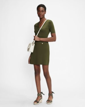 Knitted Utility Dress