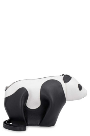 Loewe Panda Mini Leather Crossbody Bag