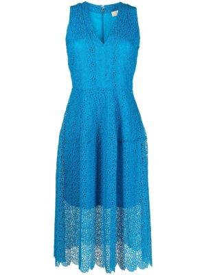 Michael Michael Kors crochet layered dress - Blue