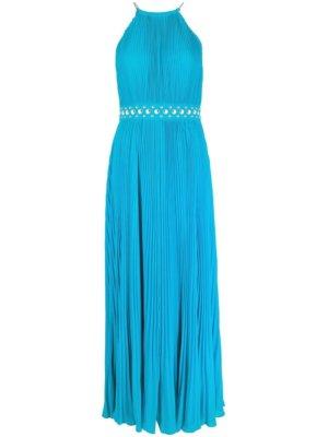 Michael Michael Kors sleeveless pleated dress - Blue