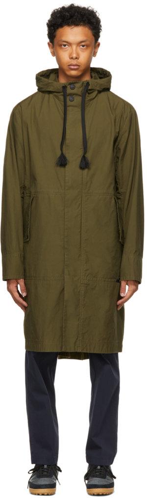 Moncler Genius 5 Moncler Craig Green Khaki Actinemys Coat