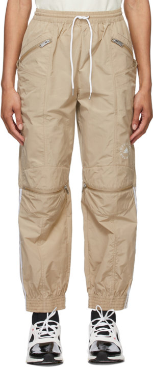 Stella McCartney Beige adidas by Stella McCartney Taffeta Lounge Pants