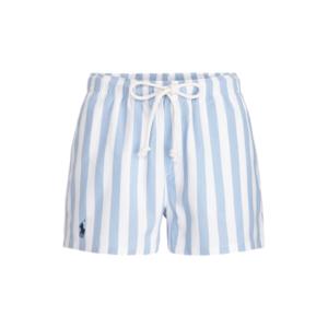 Striped Cotton Drawstring Short