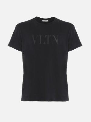 Valentino Cotton T-shirt With Vltn Print