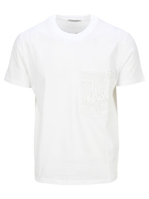 Valentino Macrame Logo Print T-shirt