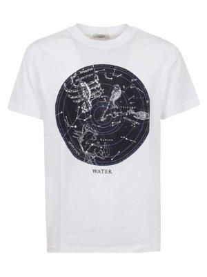 Valentino T-shirt Zodiac Map